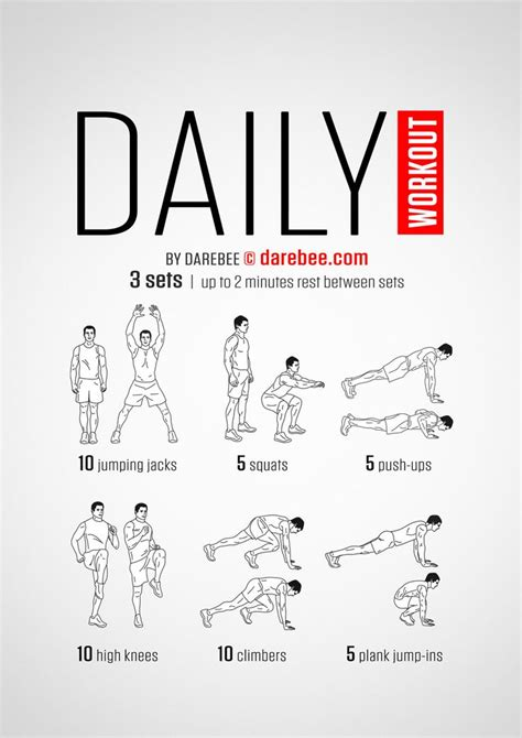 exceptional work out plans at home 12 daily workout plan 25 best ideas about easy daily workouts on pinterest
