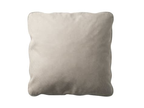 leather cusions leather cushion with removable cover zip by zanotta design