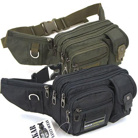 Tas Pinggang Tactical Black T1910 4 cool black green pack waist bag bum belt