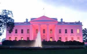 white house lighting obama will light white house pink for breast cancer