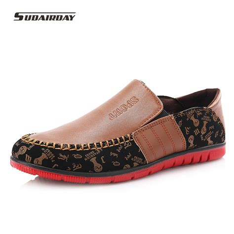 fashion slip on shoes loafers 2016 pu brand