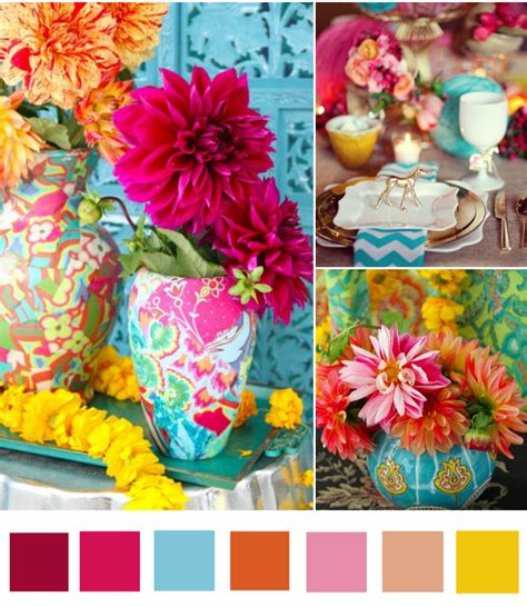 bohemian color scheme beach wedding colours to fit your style bajan wed