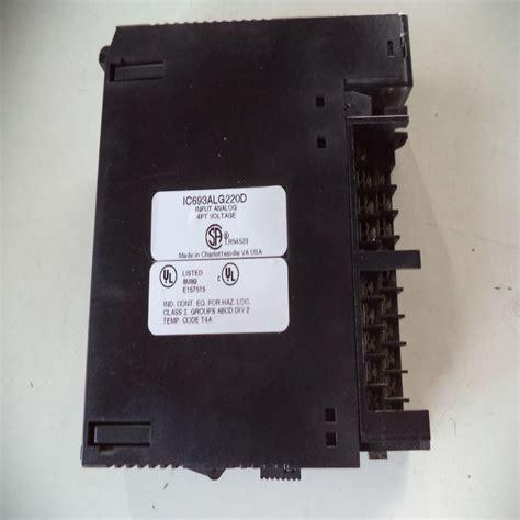 ingressi analogici elettronica lucense general electric ic693alg220c ingressi