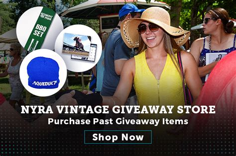 Nyra Giveaways 2017 - belmont park nyra