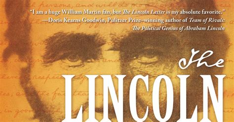 the lincoln letter william martin civil war librarian new fiction the lincoln letter two