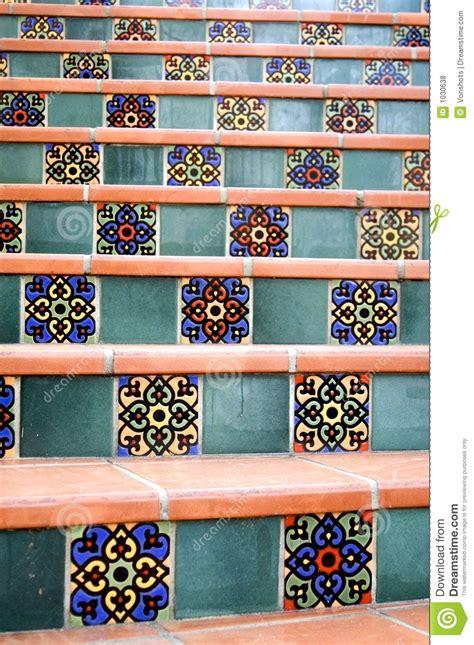 piastrelle spagnole mattonelle spagnole fotografie stock libere da diritti