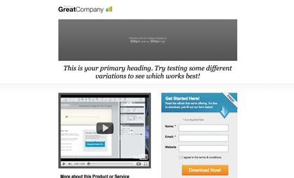 How To Launch A Kick Ass Sem Caign 3 Of 3 Adwords Testing And Optimisation Clicktrue Adwords Landing Page Templates
