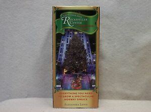 grow your own tree kit grow your own rockefeller center tree kit spruce great book ebay