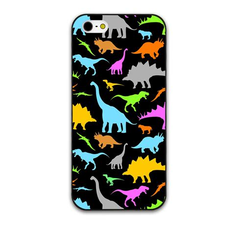 Iphone 6 6s Plus Tiny The Arcane Hardcase colorful dinosaur and baby elephant cover for iphone 4 4s 5 5s 5c 6 6s
