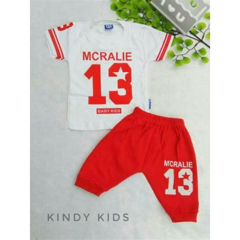 Promo Baju Bayi Laki Laki Lucu Setelan Fred Tie Lucu Murah Keren jual baju bayi laki laki lucu setelan bayi mcralie merah