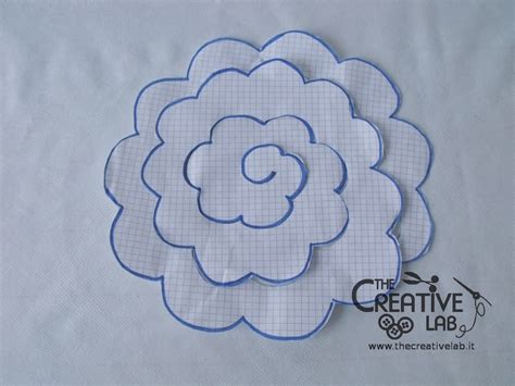 come realizzare fiori di stoffa tutorial come fare dei fiori di stoffa the creative lab