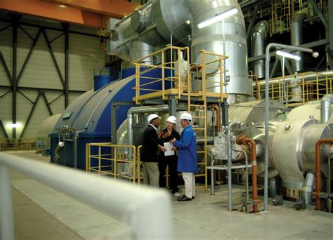steam turbine at mainz wiesbaden combined cycle power