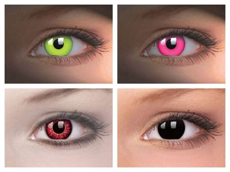 light up contact lenses uv and led lights designer contact lenses a brand new trend