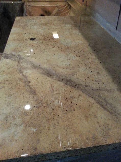 Overlay Countertops by Concrete Countertops By Jls Concrete Designs This Is A Micro Overlay Covering Existing Formica