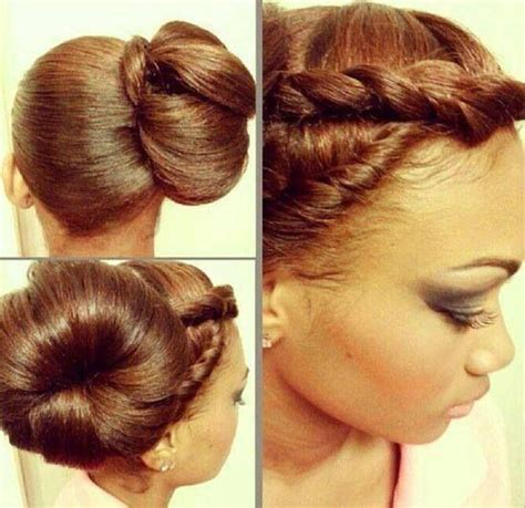 itching african bun hairstyles this bun hair pinterest hair style natural and