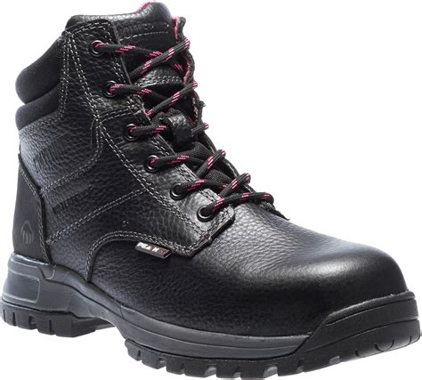 composite boots womens wolverine piper 6 quot composite toe boot black pink