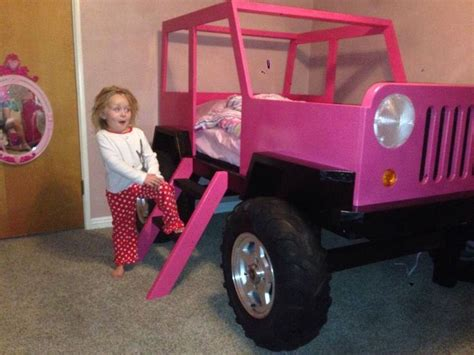 pink jeep bed pink jeep bed kids pinterest