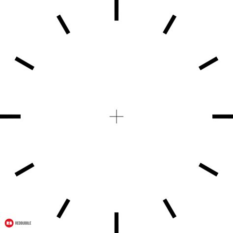 Clock Template by Quot Rb Clock Templates Quot By Ifourdezign Redbubble