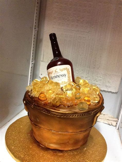 pin hennessy birthday cake cake on