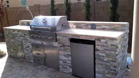 built in barbecues fireplace az living landscape call 480 390 4477