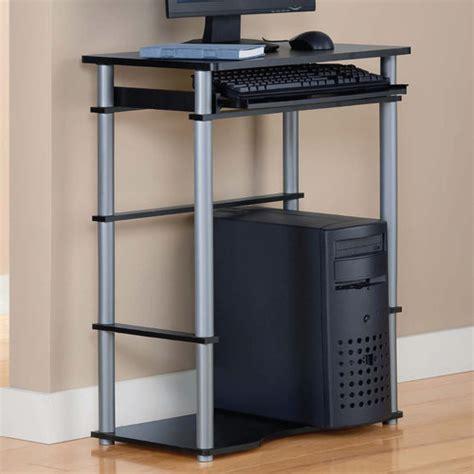 Computer Desk Walmart Mainstays Mainstays Computer Desk Black Walmart