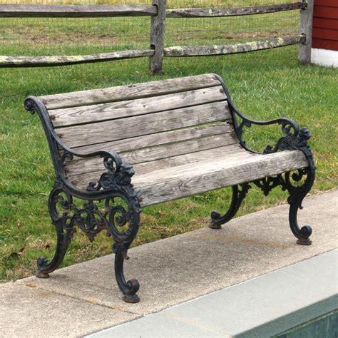 cast iron benches victorian cast iron garden bench