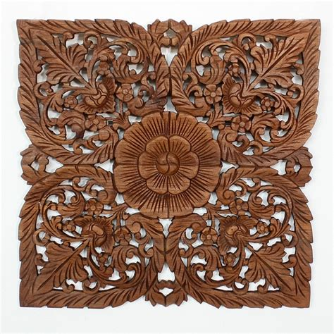 Carved Wall Decor by Wood Carving Wall Wall Sculptures Decorative Wall