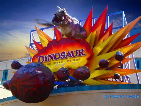The Walt Disney World Picture of the Day: Dinosaur Ride Entrance Sign