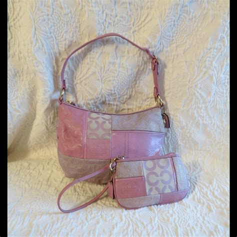 Pink Patchwork Coach Purse - 86 coach handbags sale coach ali pink patchwork