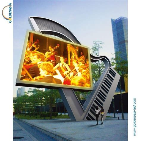 outdoor display outdoor led display board p18 goldenasia china