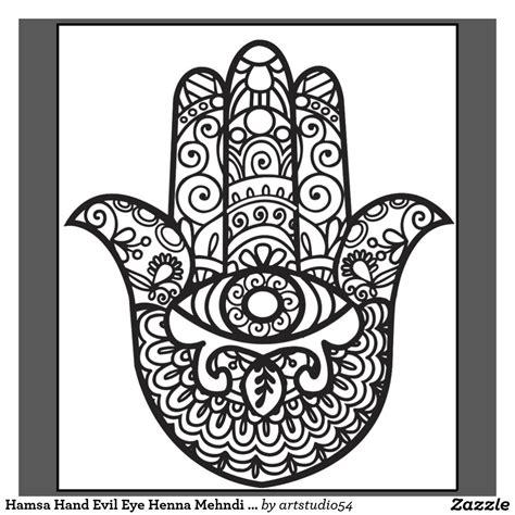 hamsa henna tattoo hamsa evil eye henna mehndi style t shirt mehndi