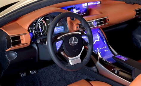 lexus lf fc interior closer look at the lexus lf cc concept interior lexus