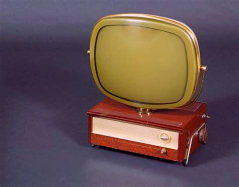 what year was color tv invented predicta