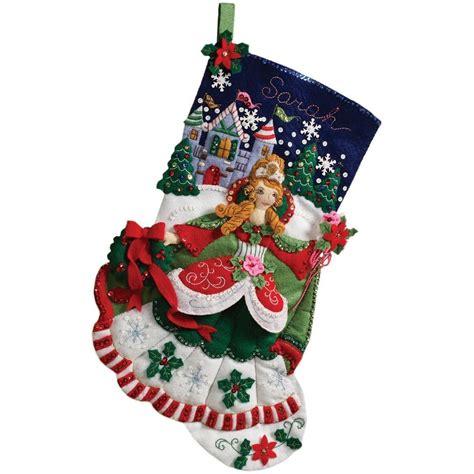 bucilla christmas bucilla quot princess quot felt kit cinderella 18 quot oop ebay