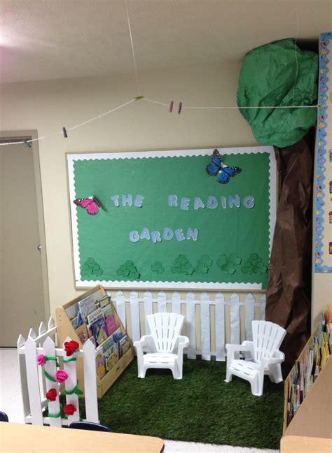 Garden Reading Book The Reading Garden Pre K Classroom Projects