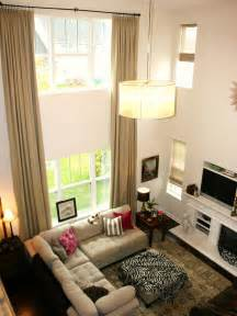 Livingroom Window Treatments by Chic Window Treatment Ideas From Hgtv Fans Window