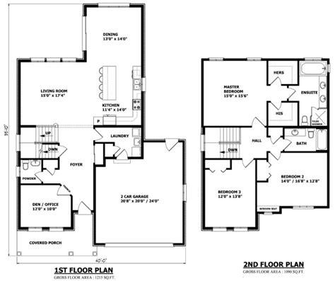 bungalow home plans canada