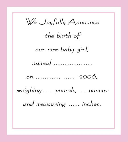 free printable photo birth announcements templates free printable baby shower invitations for www