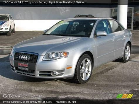 2006 audi a4 colors 2006 audi a4 silver 200 interior and exterior images