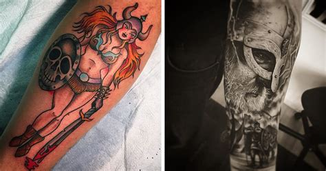 where did they get rollos tattoo from get ready to go marauding with these viking tattoos tattoodo