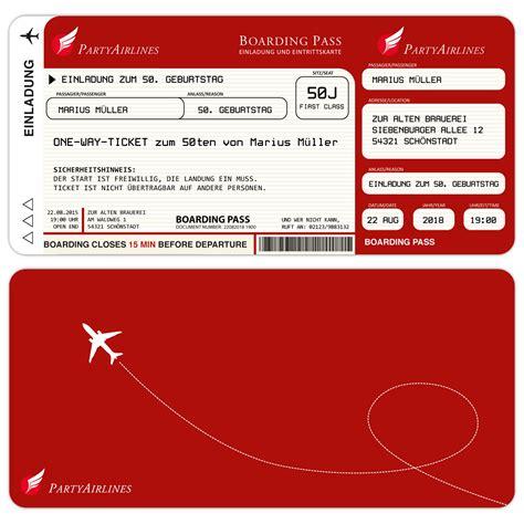 Muster Einladung Zum Vorstellungsgespräch Kostenlos Einladungskarten Zum Geburtstag Als Flugticket Rot Kartenparadies Koeln De Individuelle