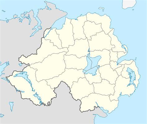 Belfast Address Finder File Northern Ireland Location Map Svg