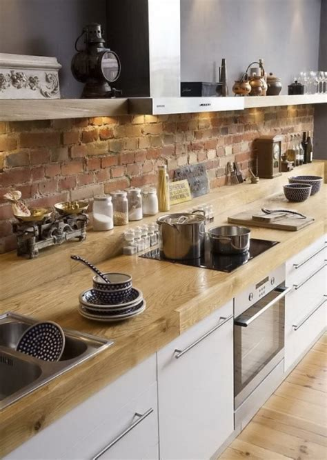 brick kitchen backsplash brick backsplash pictures and design ideas