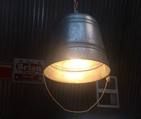 unique kitchen light fixtures unique bucket light fixture idea photo