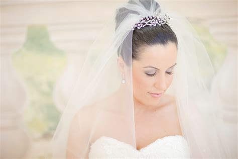 Wedding Hairstyles With Veil And High Bun by Wedding Updo High Bridal Bun Onewed