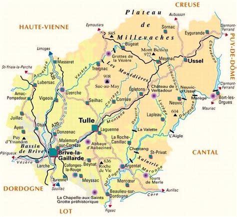 Limousin Département de la Corrèze