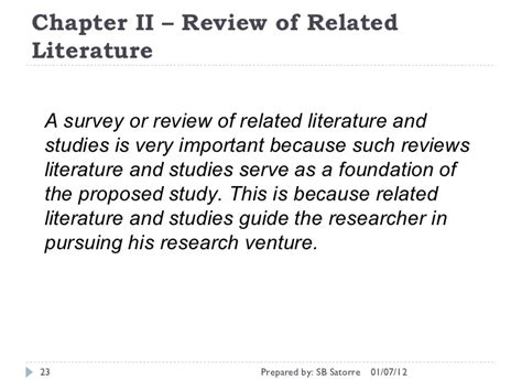 Chapter Ii Review Of Related Literature Sle by Writing Chapters 1 2 3 Of The Capstone Project Manuscript