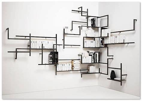 Desain Unik Rak Buku Dinding   Desain Rumah Unik