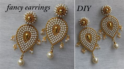 beautiful earring designs to make at home contemporary
