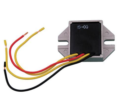 voltage regulator electric start 090 01 universal 12v
